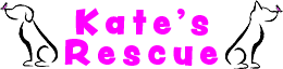 Kate's Rescue for Animals Logo