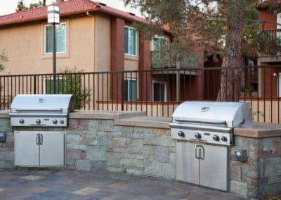 Corona Pointe Resort Bbq Grill Station