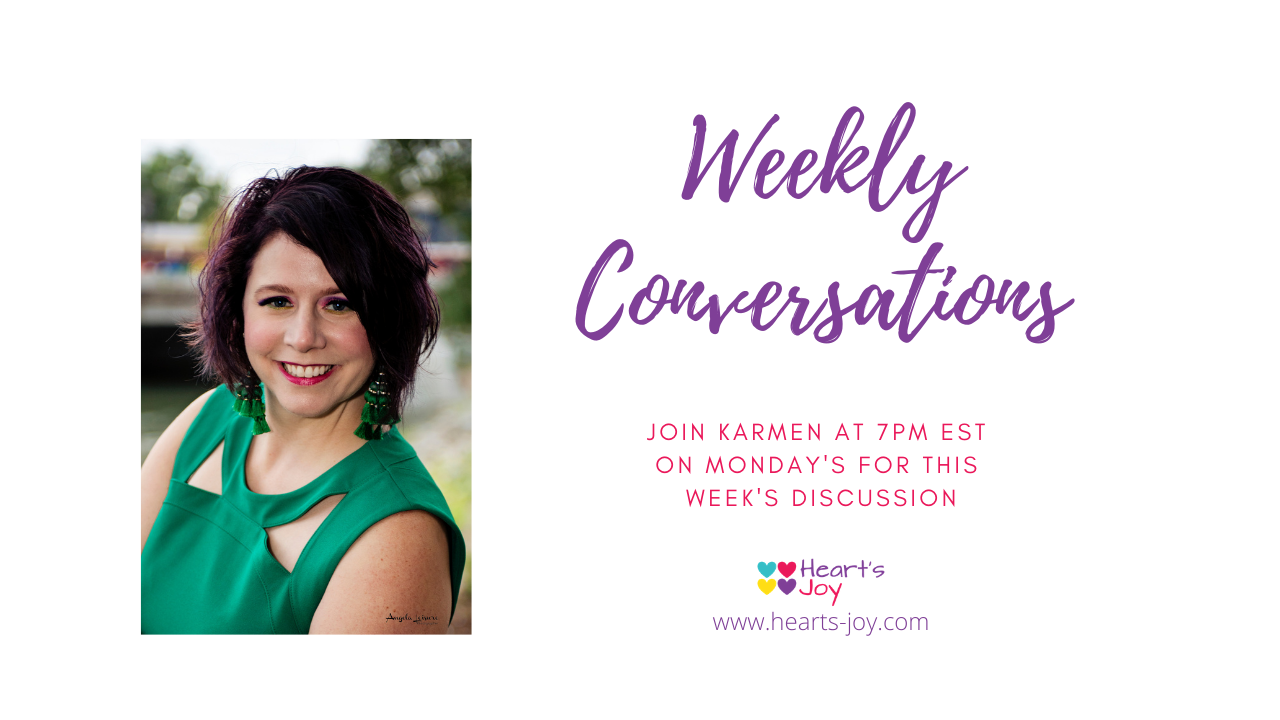 Weekly Conversations graphic