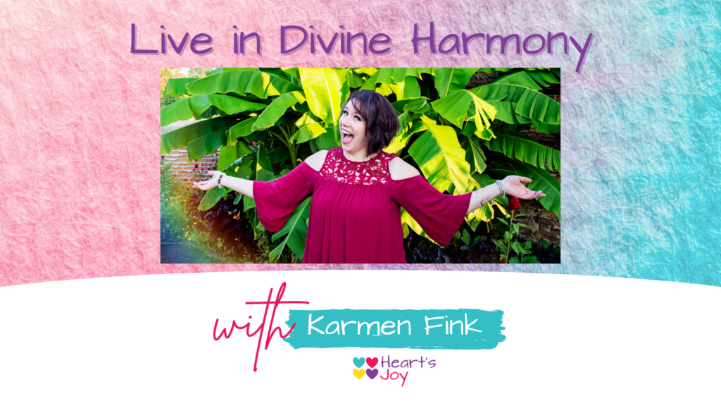 Podcast - Live in Divine Harmony