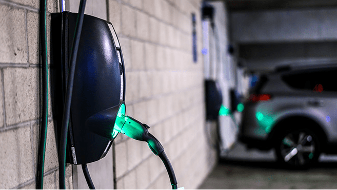 EV charging installation