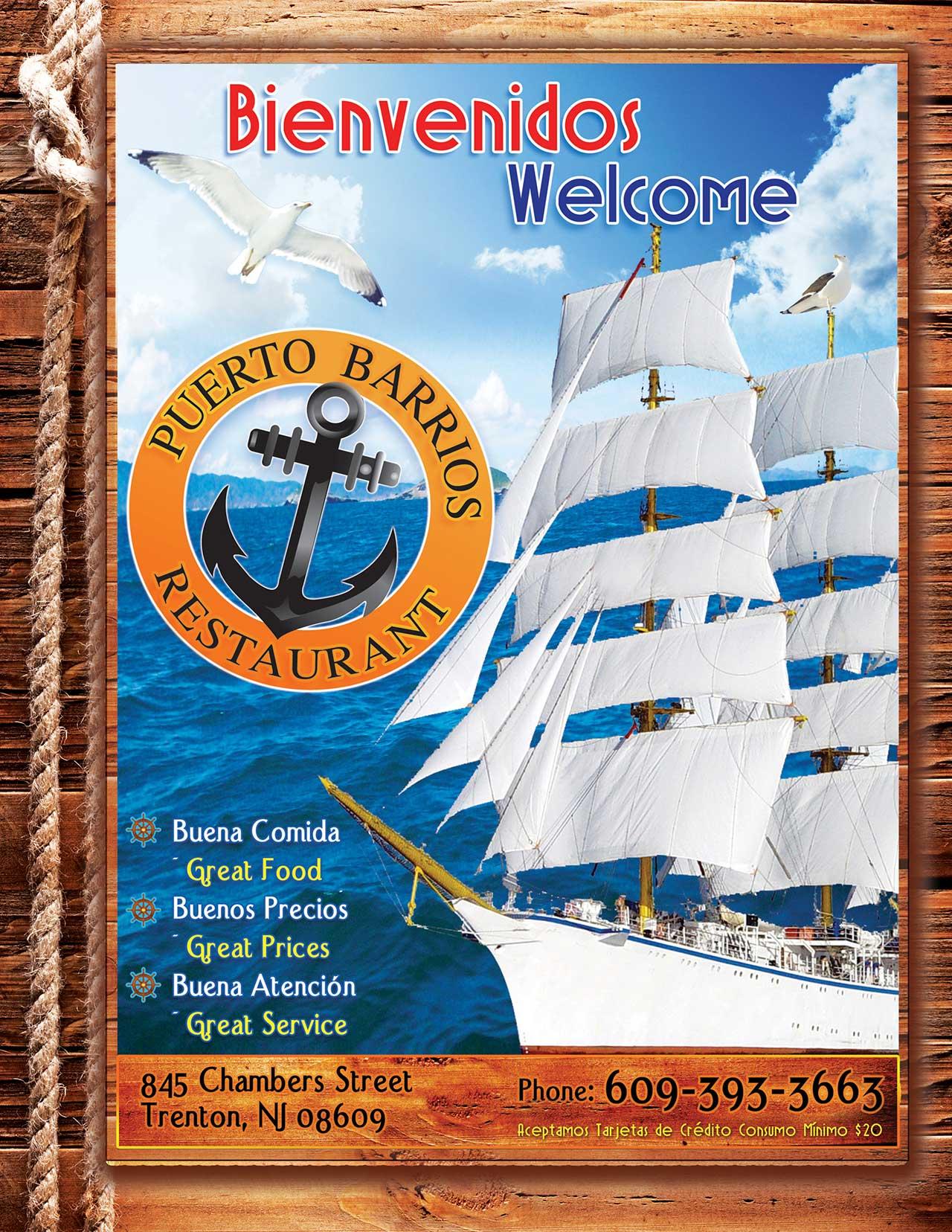 Puerto Barrios Front Page Menu