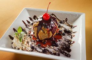 Diego's Deepfried Ice Cream