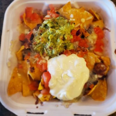 Bean Super Nachos