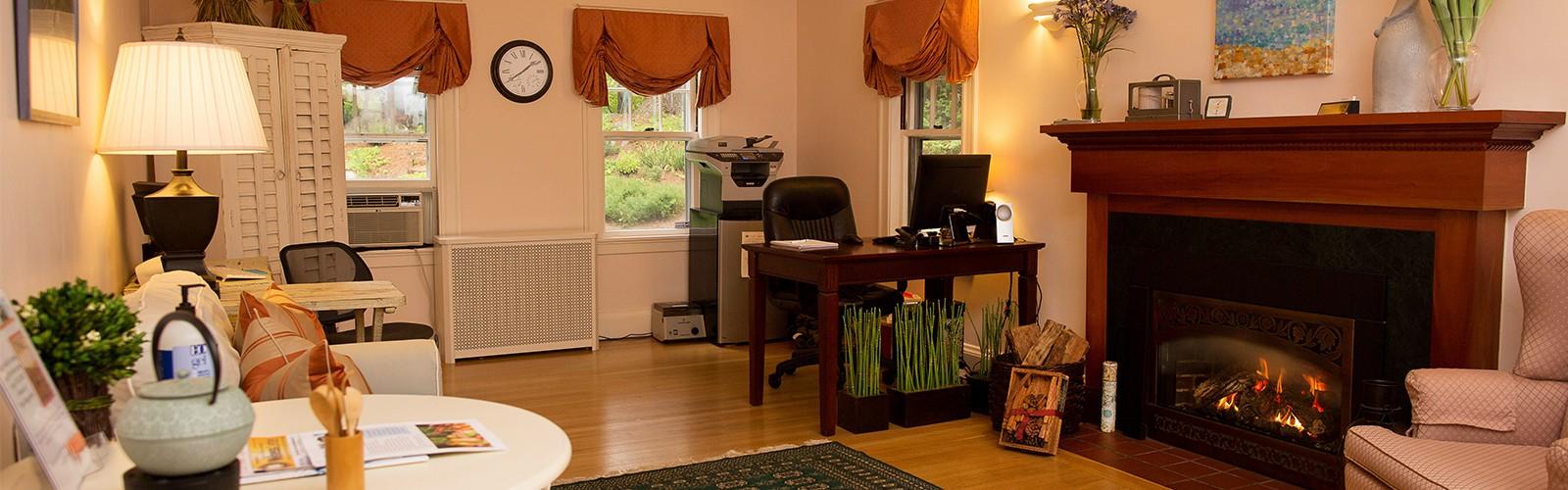 Concierge Medicine Waiting Room, Weston & Boston MA