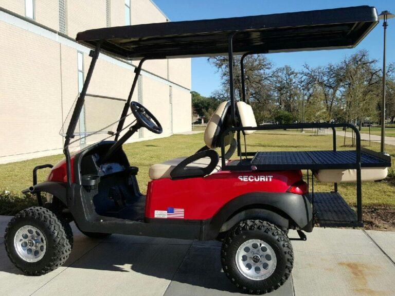 Four Passenger Golf Cart