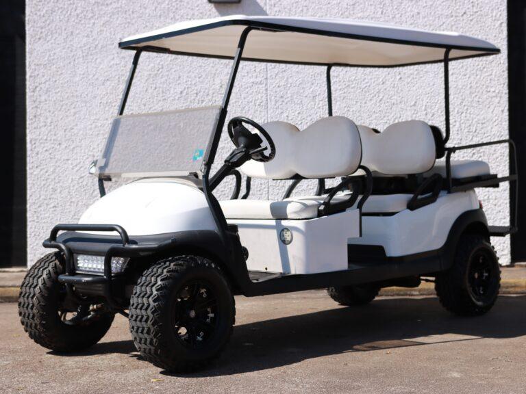 Six Passenger Golf Cart