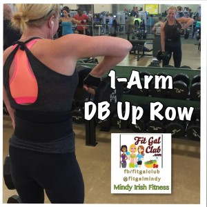 Weekly fave 1arm db up row