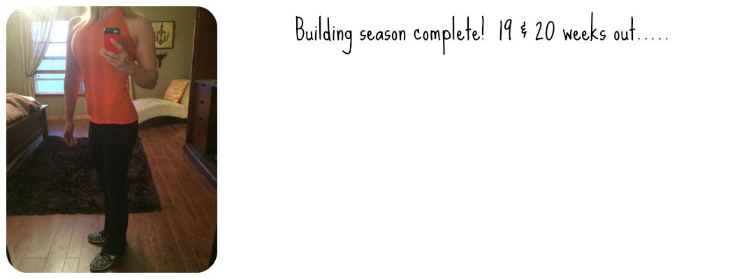 Building season complete