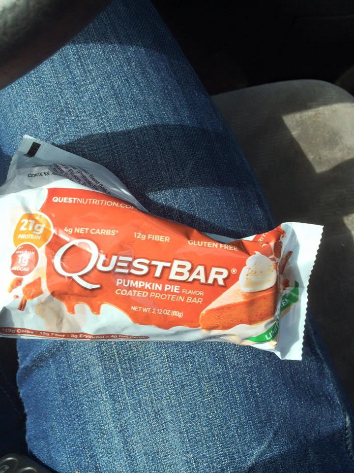 Quest bar pumpkin