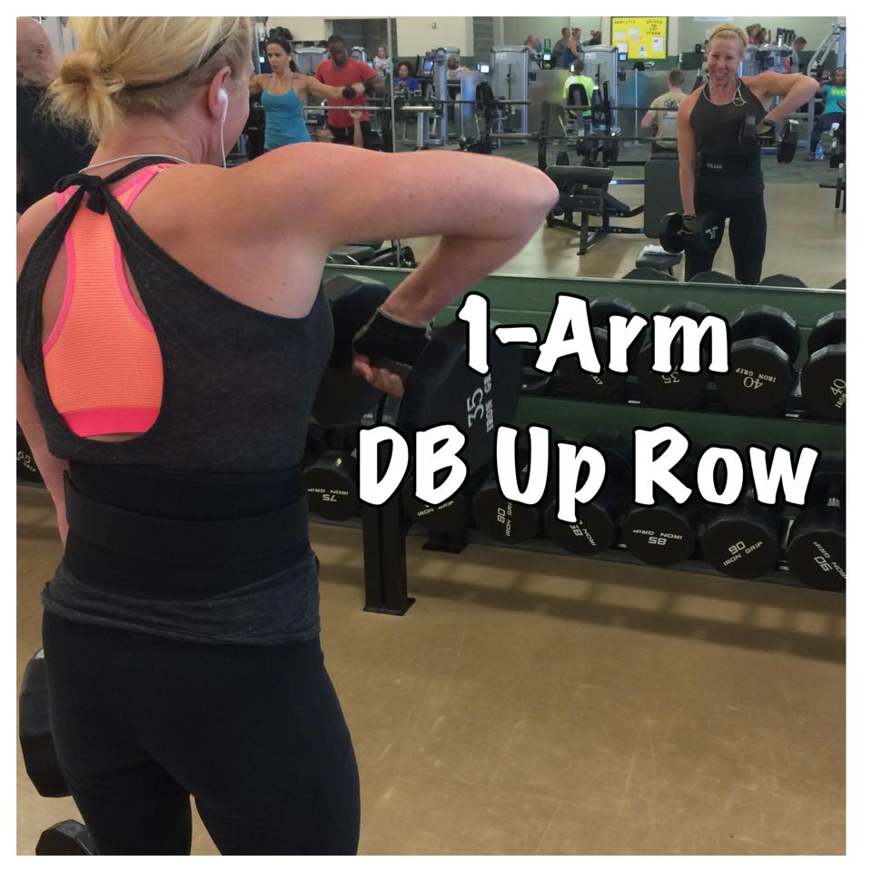 Weekly fave 1arm db up row 2