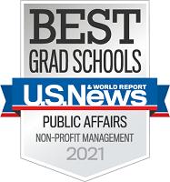 Best Schools Public Affairs Non-Profit Management Award