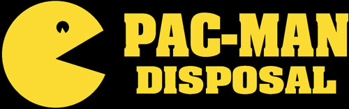 Pac-Man Disposal Logo