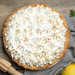 Photo of lemon meringue pie