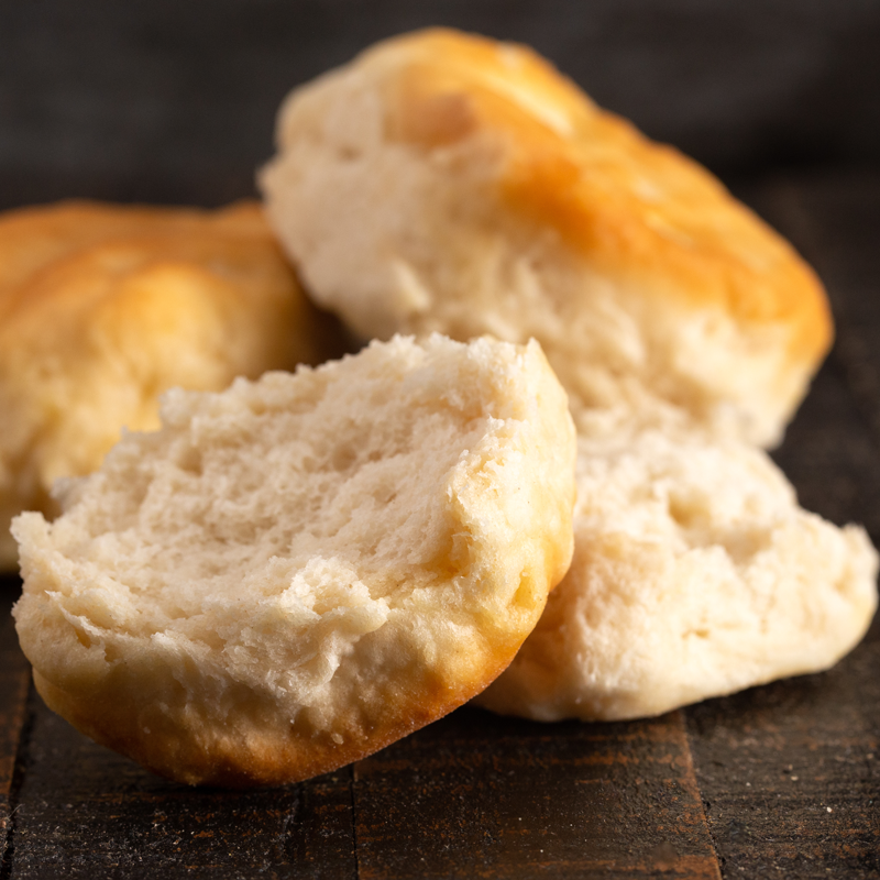 Photo of buttermilk biscuits