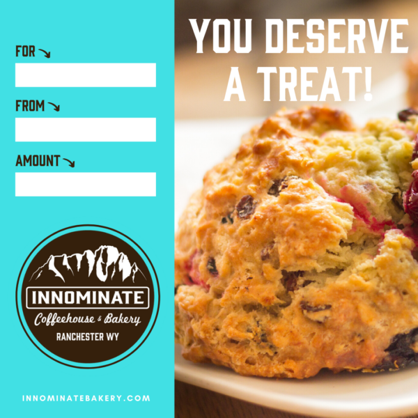 Image of Gift Certificate from Innominate Coffeehouse and Bakery