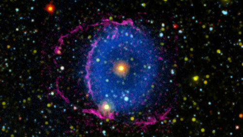 Mystery of Glowing Cosmic 'Eye' Finally Solved