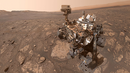 A Very Dusty Curiosity Rover Snaps a Selfie