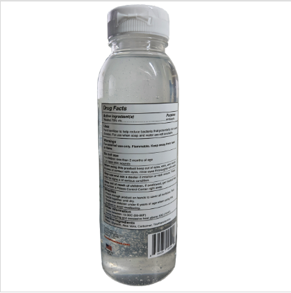12 oz bottle back