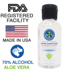 Hand sanitizer 2oz.