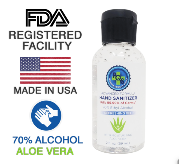PQS 2oz Hand sanitizer