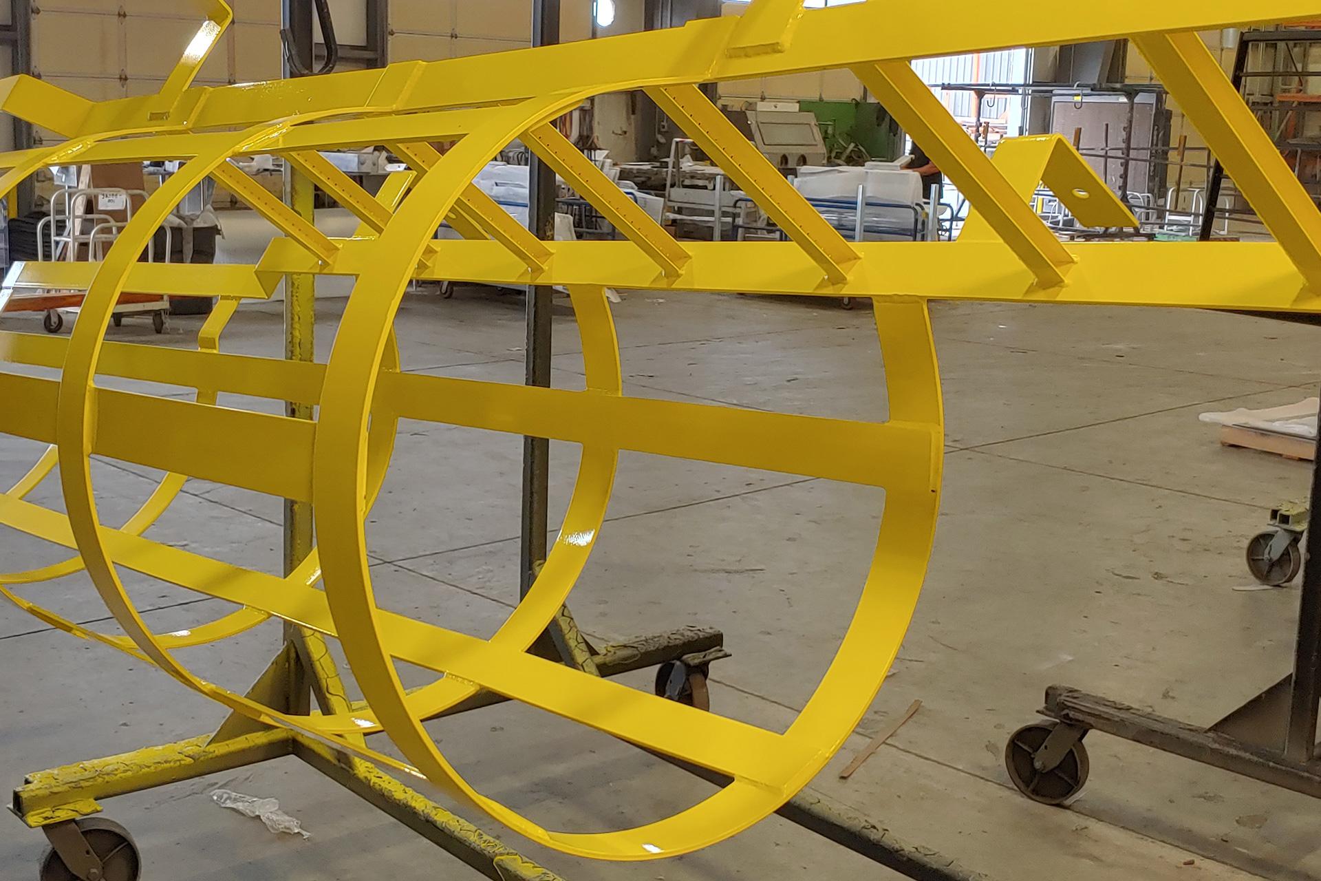 Powder Coated Industrial Ladder