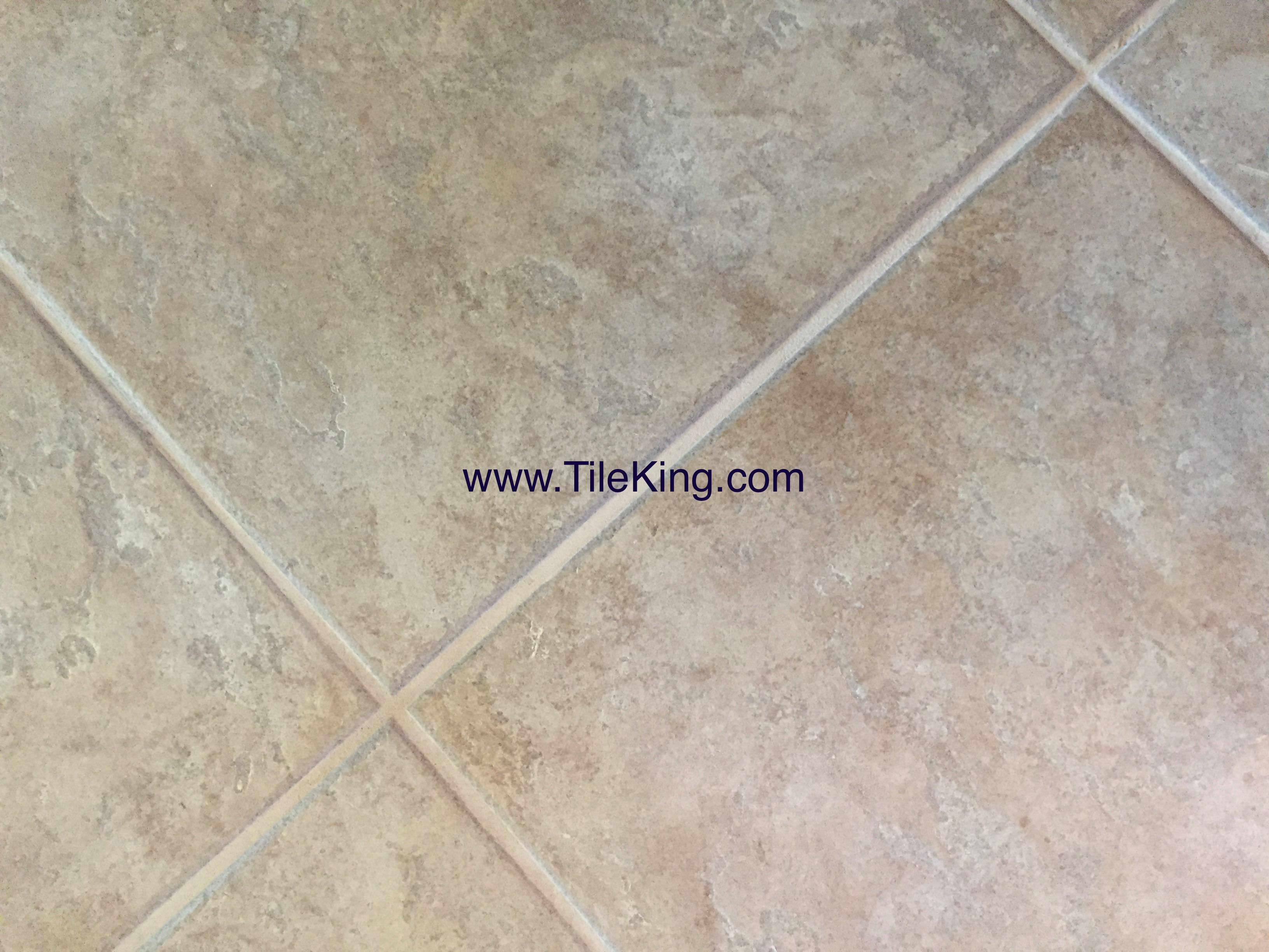 travertine chipping after repairs