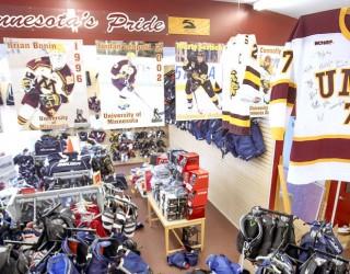 Stauber sports store goes all-hockey