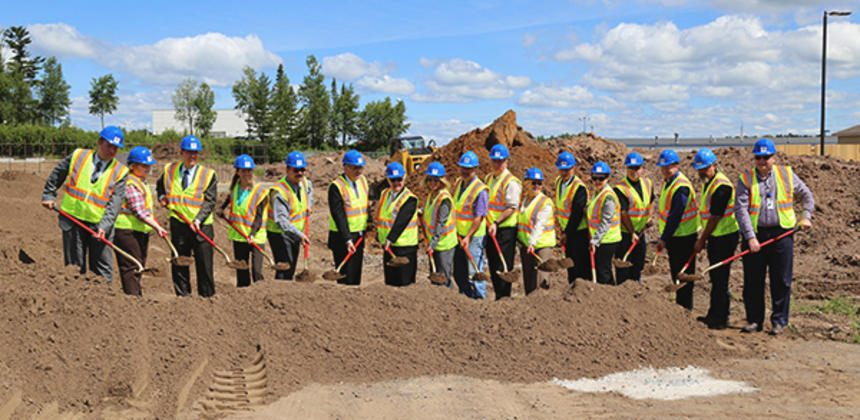 St. Luke's Clinic in Hermantown going up in High-Profile Location