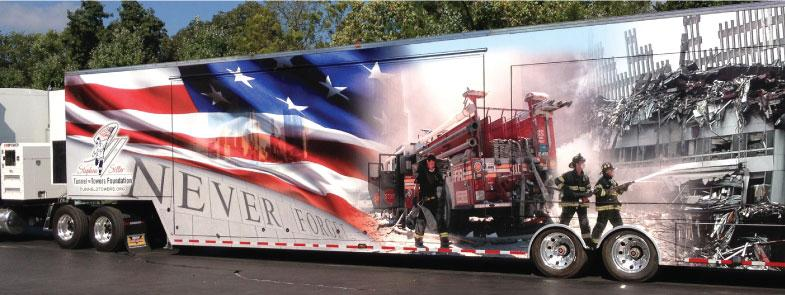 9/11 Never Forget Mobile Exhibit in Duluth on Sunday