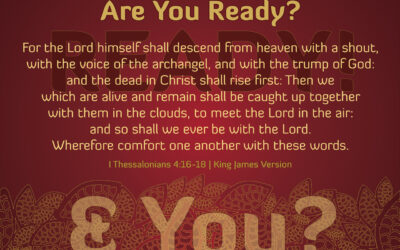 Therefore Encourage One Another With These Words: Rapture Dream 2020
