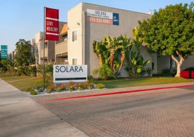 Solara Apartments Sign