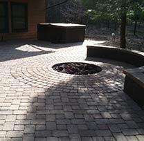 portland landscape installation