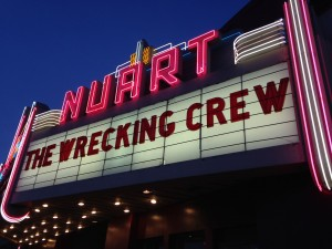 The Wrecking Crew documentary sold out a number of screenings at the Nuart Theater in Los Angeles in 2015
