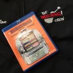The Wrecking Crew DVD on Jon's crew jacket.