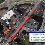 No Back-In Parking for Broadway Streetscape Project