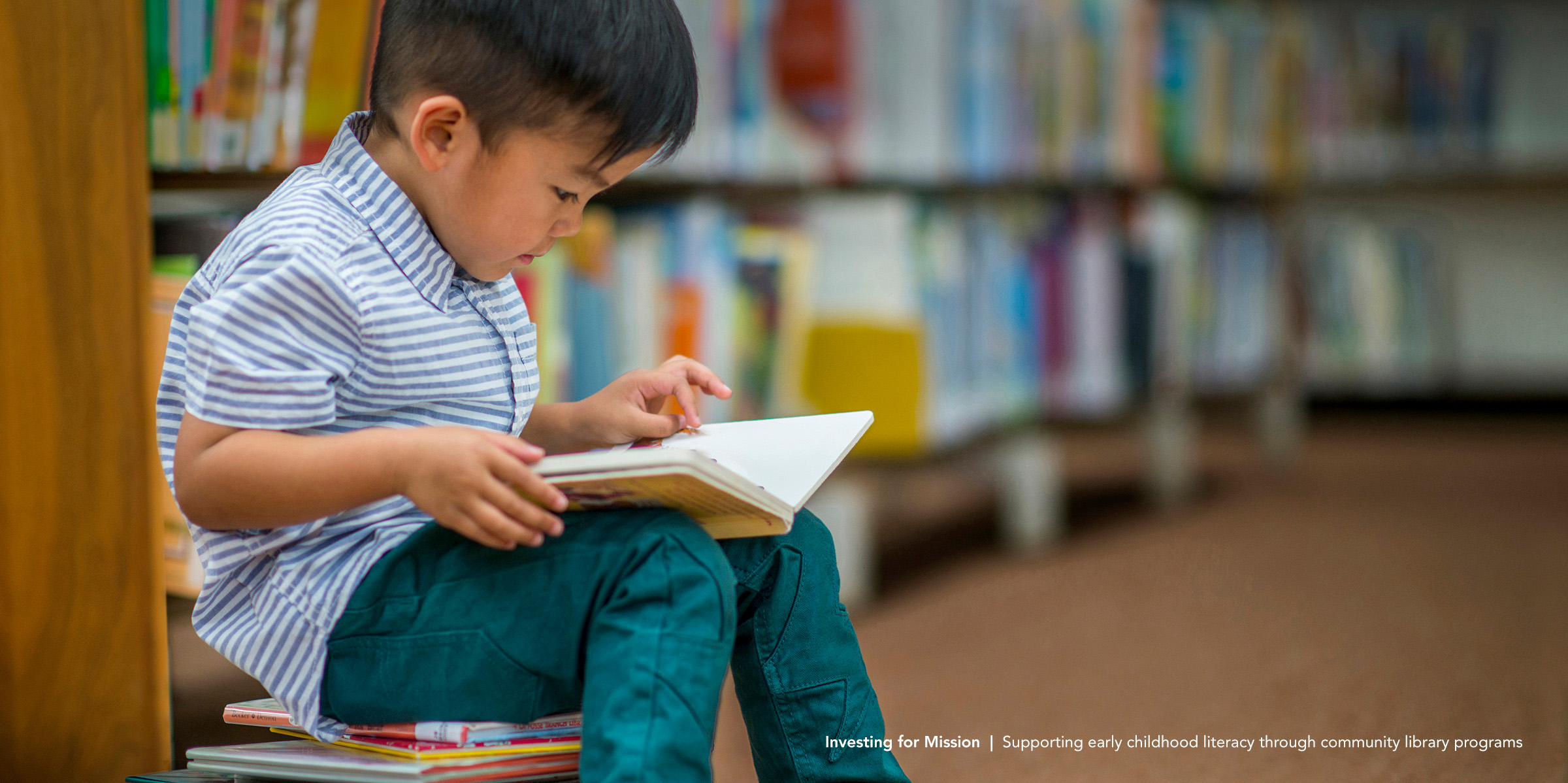Investing for Mission   Supporting early childhood literacy through community library programs