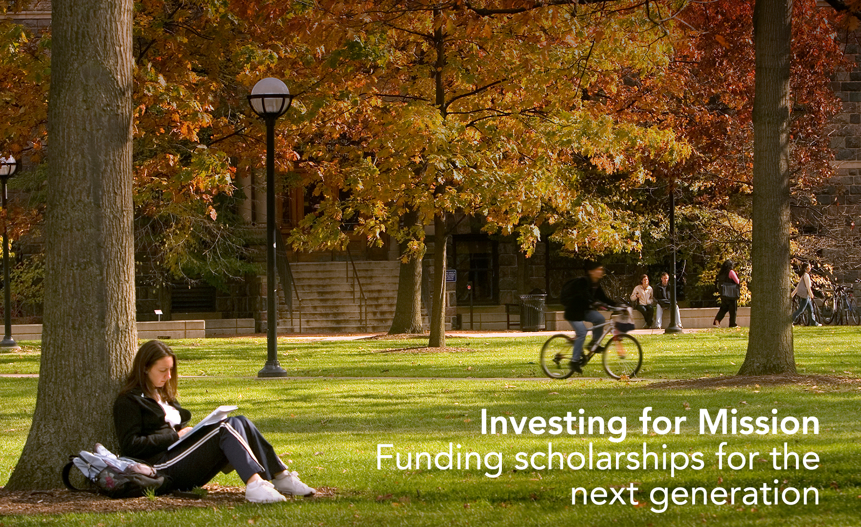 Investing for Mission | Funding scholarships for the next generation