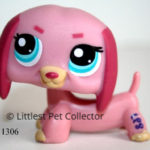 Littlest Pet Shop Dachshund 1306