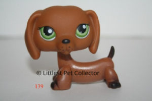 littlest pet shop dachshund 139
