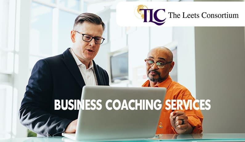 business mentor coaching a man