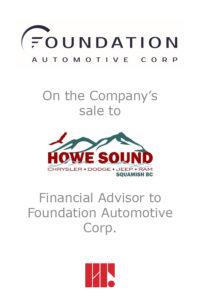 Transaction experience - Foundation Automotive