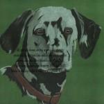 dalmation pet portrait private commission