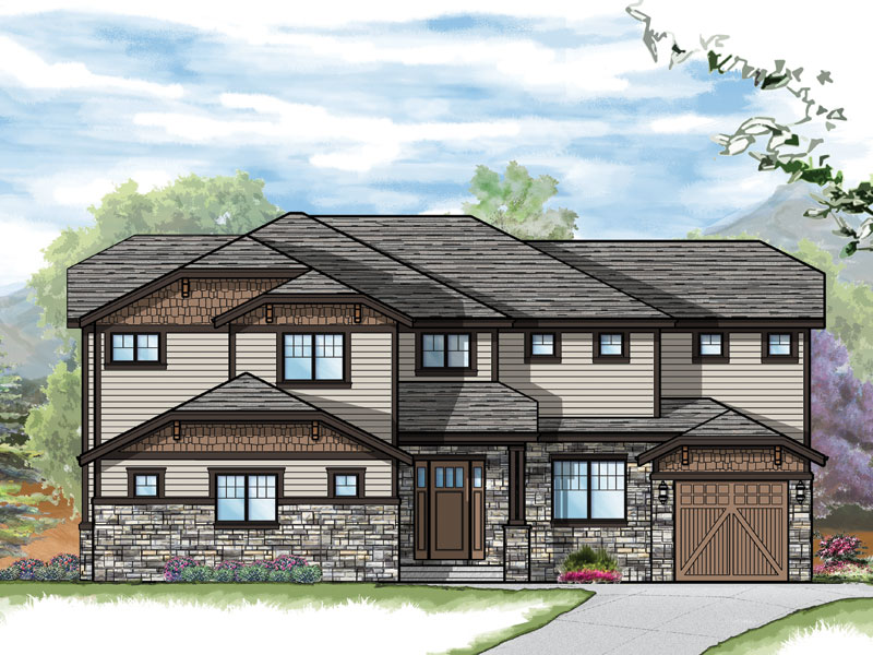 carbondale model plan by sopris homes