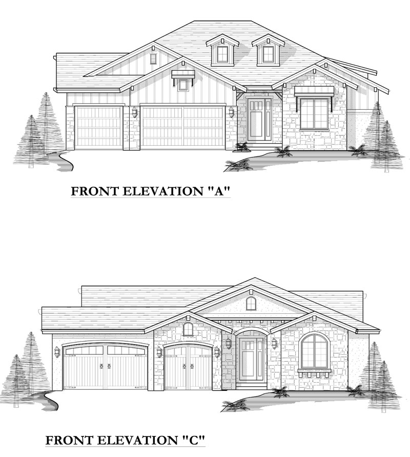 edwards model elevation options