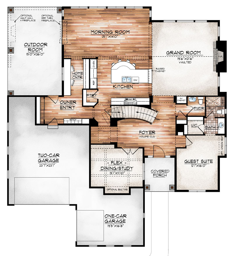 maybell model floor plan