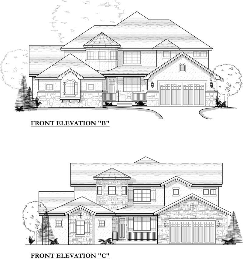 paonia model elevation options