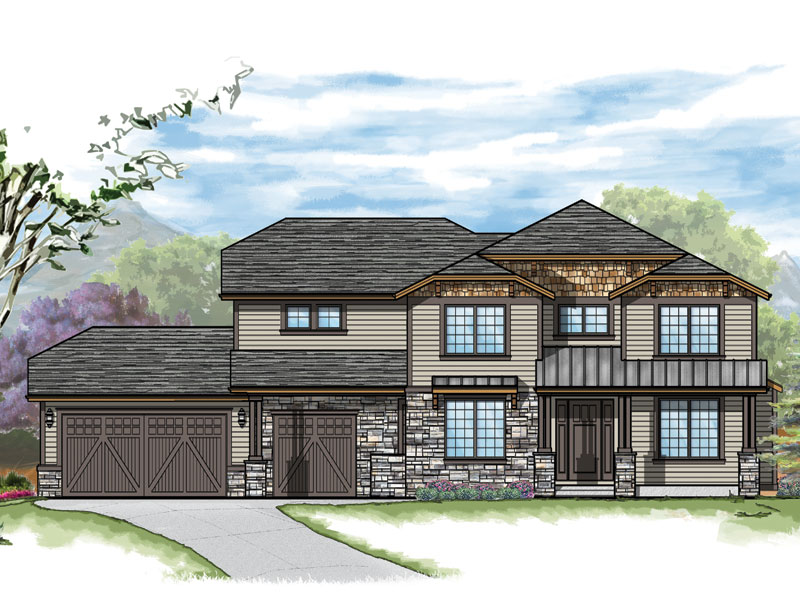 westcliffe model plan by sopris homes in boulder colorado