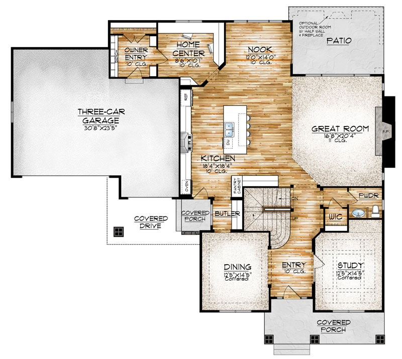 westcliffe model floor plan