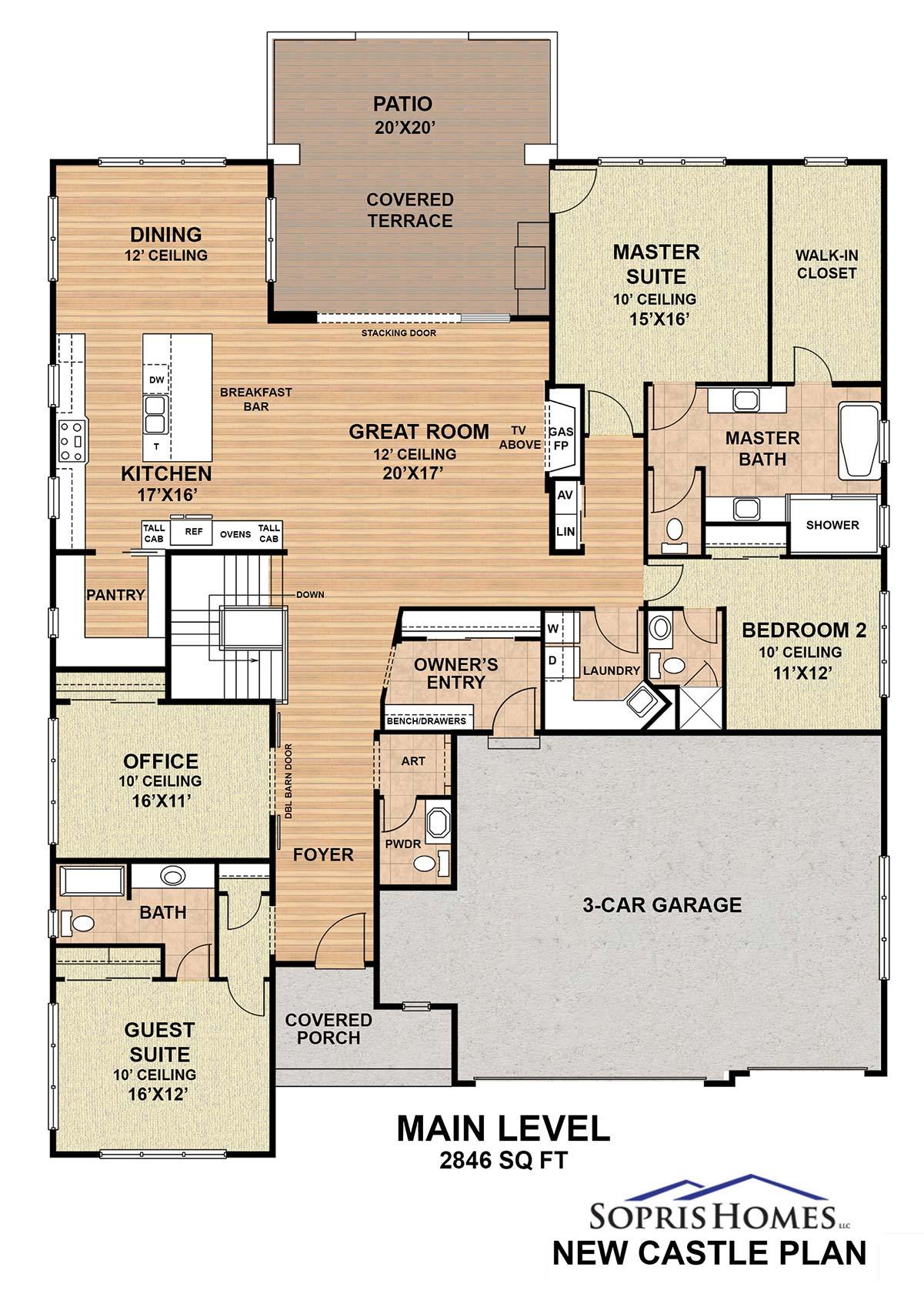 2021 New Castle Floor Plan